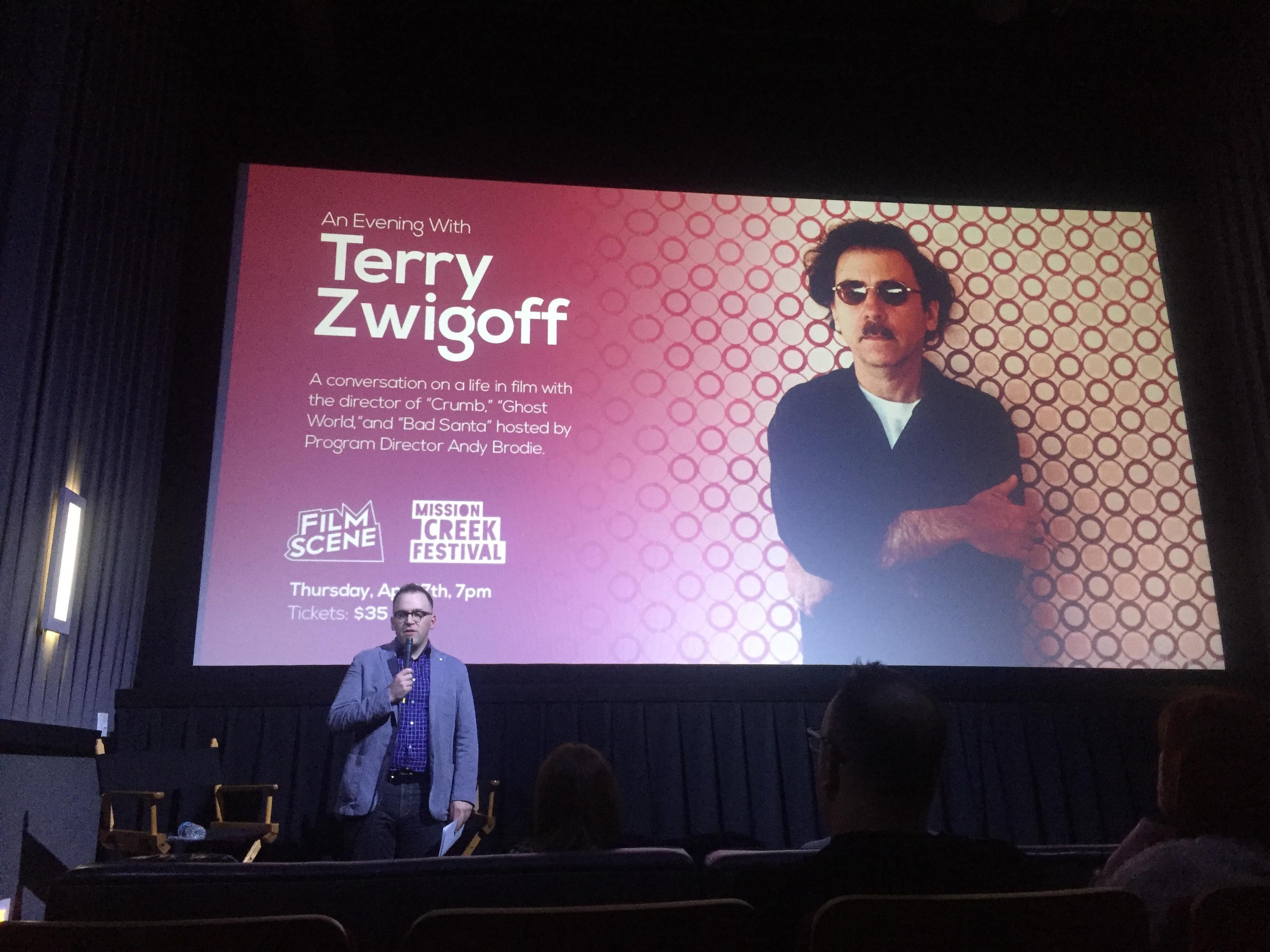 terry zwigoff new movie