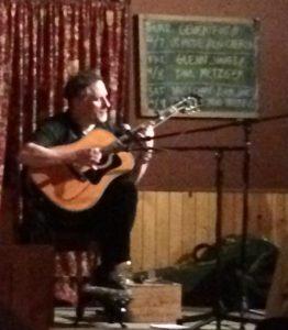 Glenn Jones on guitar