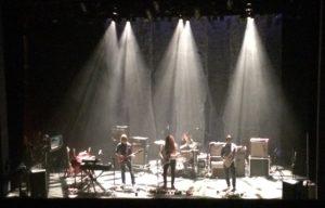 Incredible lighting at the Englert