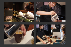 Photos of a McCafe in China, from McDonald's China's official website