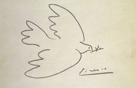 an early Picasso sketch Image via: bbc.co.uk