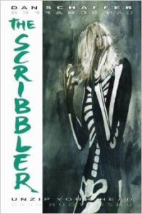 Cover art for The Scribbler graphic novel Courtesy of movies.stackexchange.com