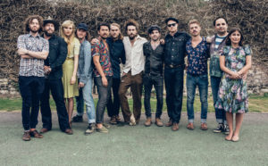 members (some past and present) of Edward Sharpe and the Magnetic Zeros Image via: www.diymag.com