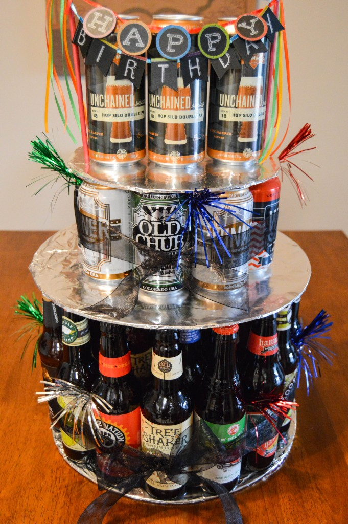 Beer Can Cake  Pack