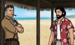 Archer and Rip, courtesy of archer.wikia.com
