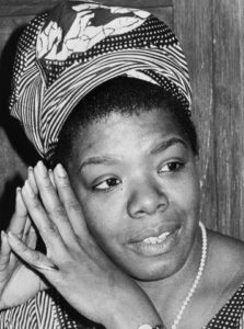 """When I'm writing, I write. And then it's as if the muse is convinced that I'm serious and says, 'Okay. Okay. I'll come.'"" - Maya Angelou"
