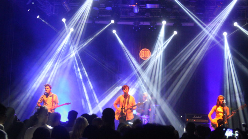 Surfer Blood at B10 (image via E.G)