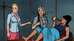 Pam, Malory, and Lana, courtesy of freshfiction.tv