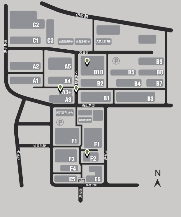 a map of Oct-Loft courtesy of octloft.cn