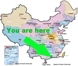 Where's Shenzhen in China? courtesy of lahistoriaconmaps.com