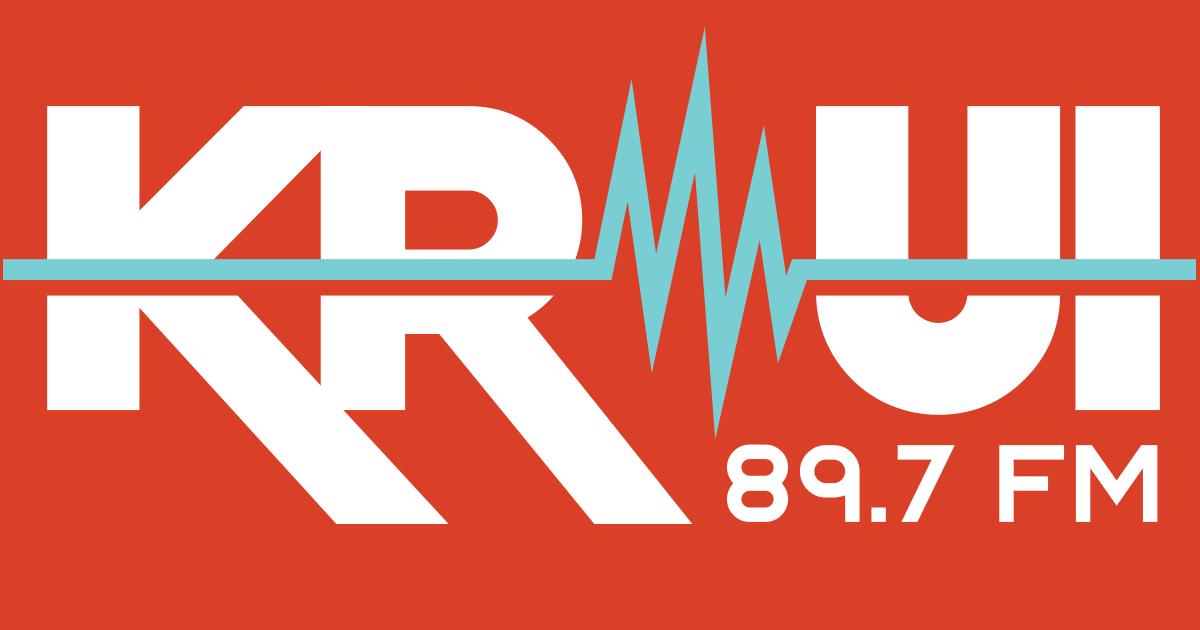 KRUI Radio 89.7 Iowa City, IA Logo