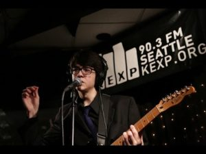 Car Seat Headrest live Will Toledo/singer/songwriter courtesy of songkick.com