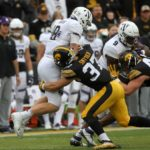 Hawkeyes struggle to contain Wildcats on Homecoming weekend