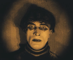 Conrad Veidt as Cesare, the somnambulist.