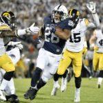 Penn State Derails Iowa 41-14