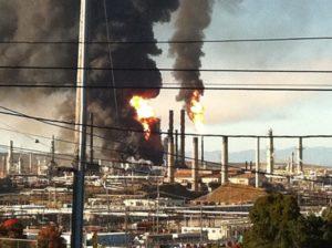 The Chevron refinery in Richmond, California. RichmondConfidential.com