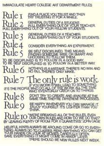 Ten Rules (Image via: https://www.brainpickings.org/)