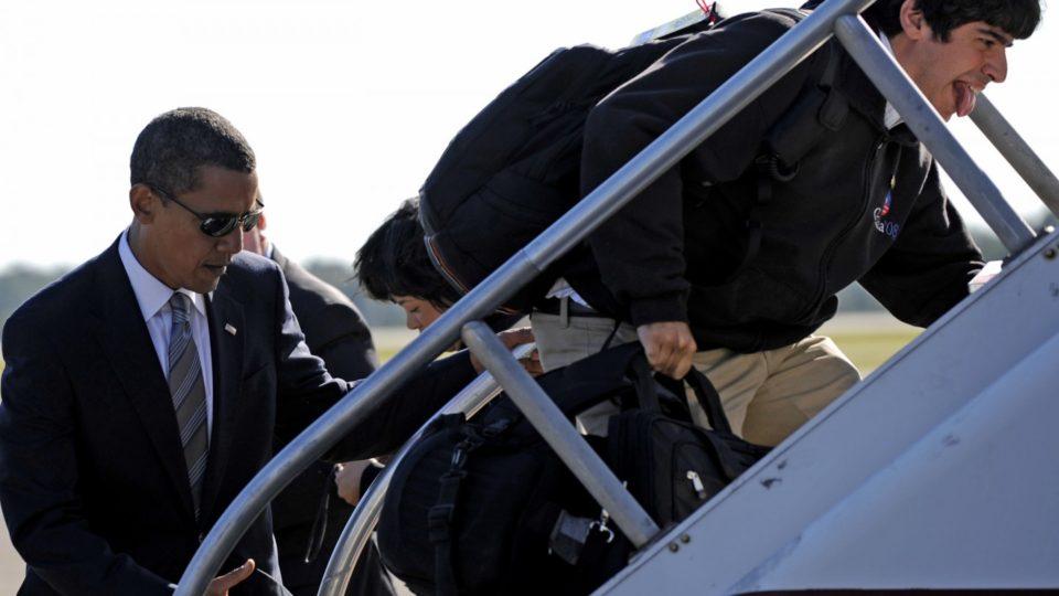 Arun Chaudhary and Barack Obama (Image via: http://disruptionmag.com)