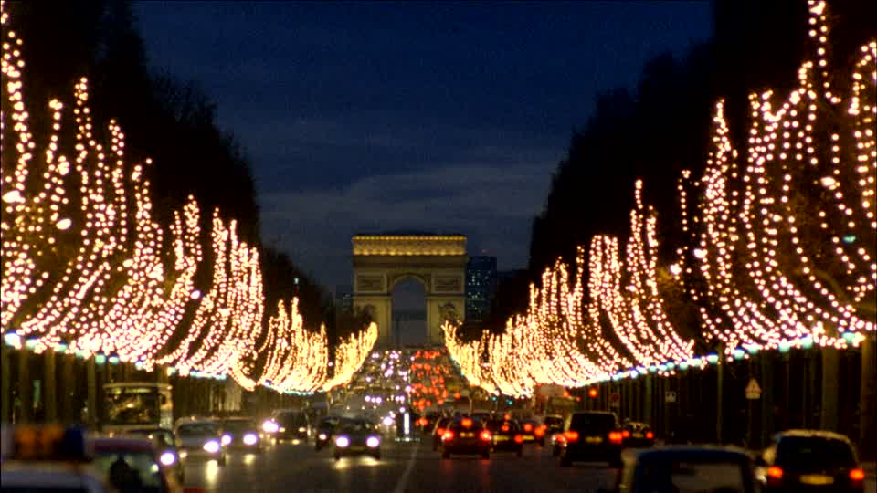 Decorations de noel paris