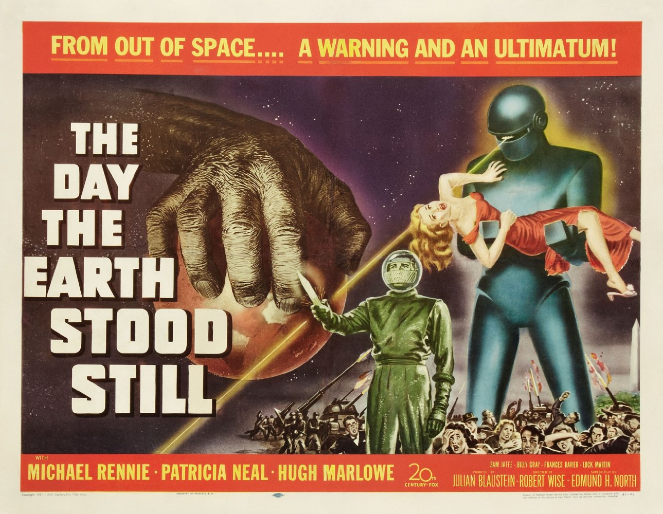 The Trunk Movie Club: The Day the Earth Stood Still - KRUI ...