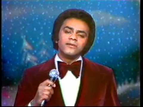 a delightfully cheesy christmas themed photo of johnny mathis image via wwwyoutubecom - Johnny Mathis Merry Christmas