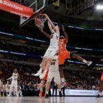 Iowa silences noisy Illini in tournament opener, 83-62