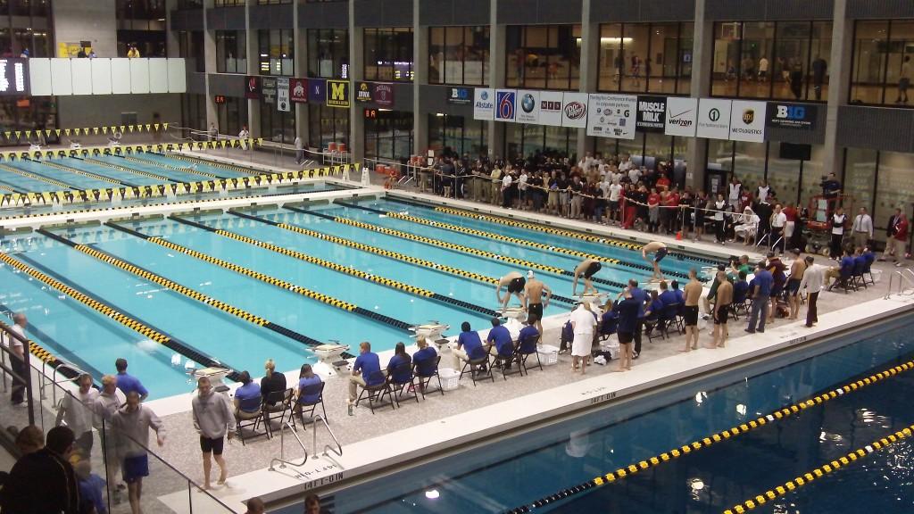 the CRWC Olympic-size pool