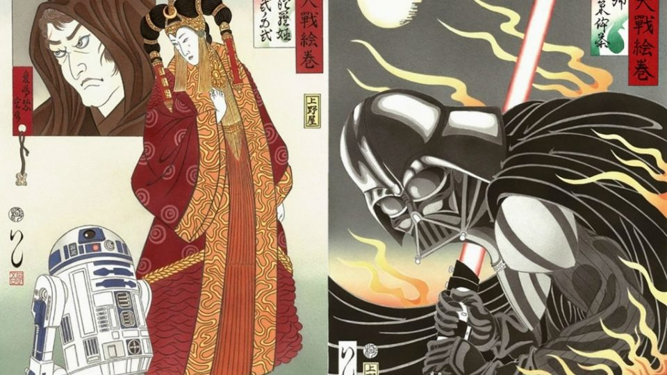 http://lostininternet.com/star-wars-reinterpreted-in-traditional-japanese-art/