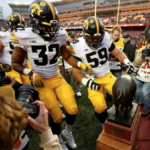 Iowa Defense has 4 picks as Hawkeyes reclaim the Floyd of Rosedale trophy