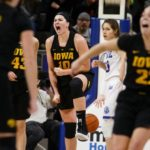 Gustafson wills Hawkeyes to in-state sweep over Drake
